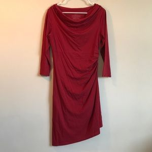 Patagonia red dress organic cotton size medium
